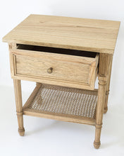 Load image into Gallery viewer, Bedside Table Hamilton - Weathered Oak - ETA 10/12/2020