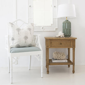Chippendale Armchair – White