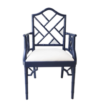 Load image into Gallery viewer, Chippendale Armchair – Navy