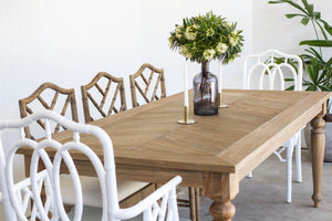 Byron Old Wood Dining Table – 2.7m