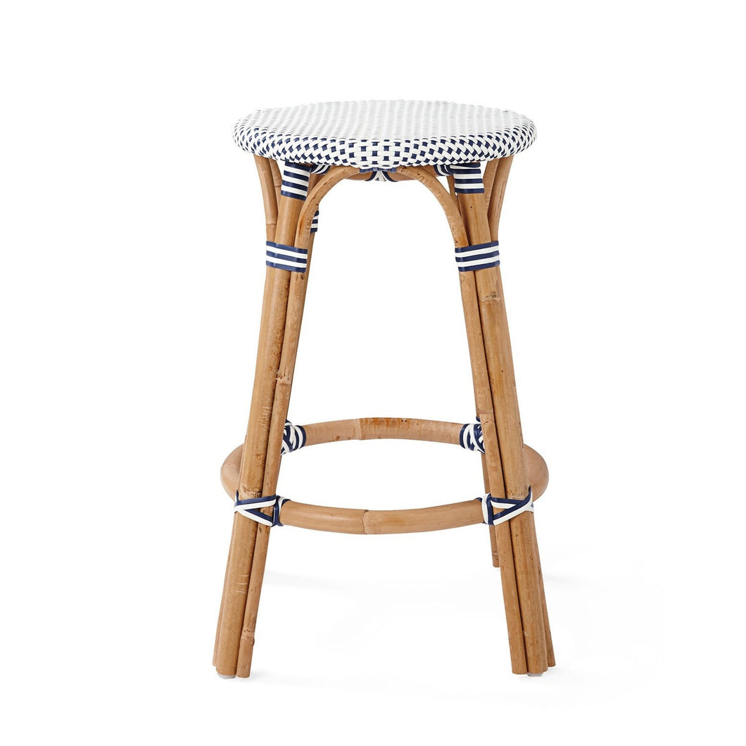 Sorrento Backless Counter Stool – Navy