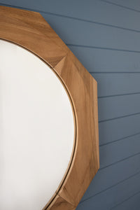 Nautical Teak Mirror