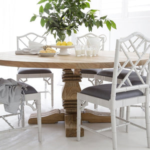 Dining Table Newport Round Pedestal 1.2m (4-6 seater)