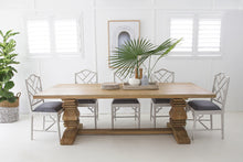 Load image into Gallery viewer, Dining Table Newport Rectangular Pedestal 2.4 x 1.0m  ETA 20/12/20