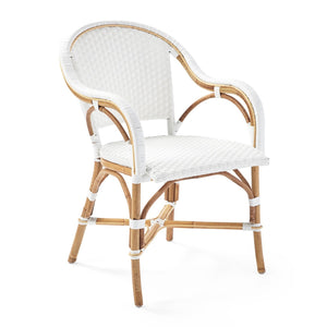 Sorrento Arm Chair – White ETA 05/12/20