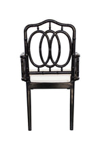 Load image into Gallery viewer, Chippendale Ring Armchair – Black