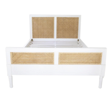 Load image into Gallery viewer, Super King Hamilton Cane Bed - White