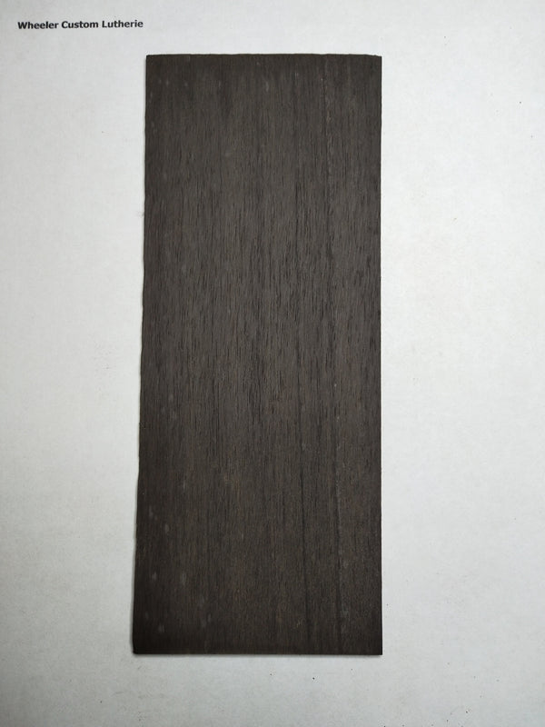 Ebony Peg Head Veneer