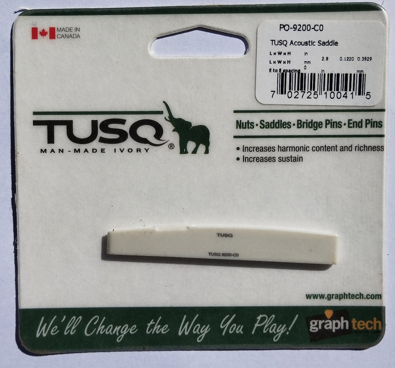 Tusq compensated B saddle