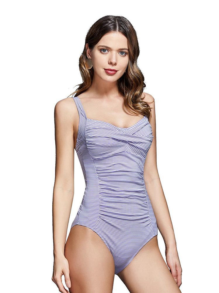 Comfy One Piece Swimsuit with Charming Curves