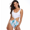 Double-Sided High Elastic One-Piece Swimsuit