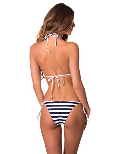 RELLECIGA Women's Triangle Bikini Set Swimsuit for Women