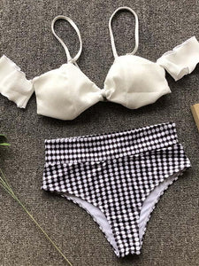 Empire Printed Fresh Bikinis Swimwear