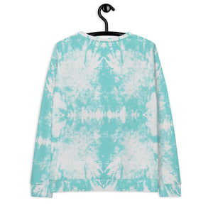 Blue Tie Dye Sweatshirt - peace-lover