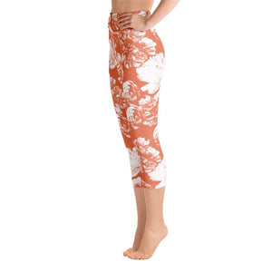 Capri Leggings - Peach Blossom - peace-lover