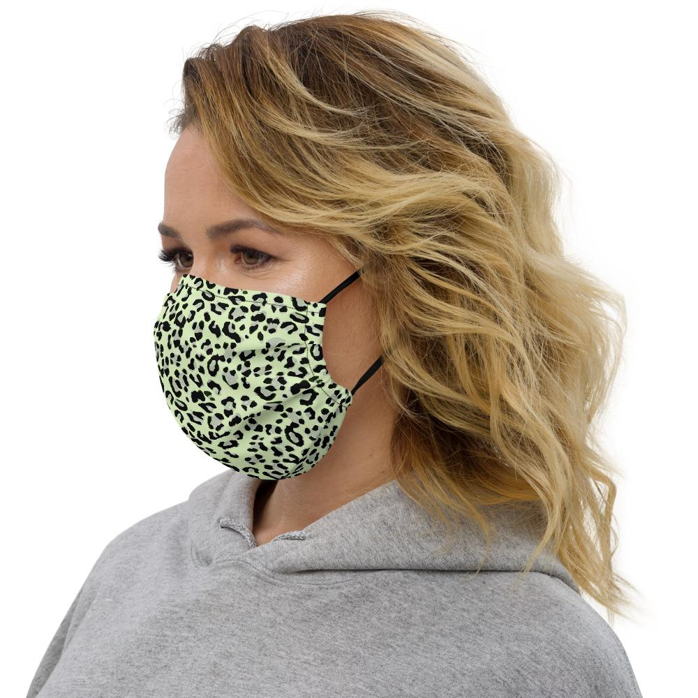Face mask - Green Leopard - peace-lover