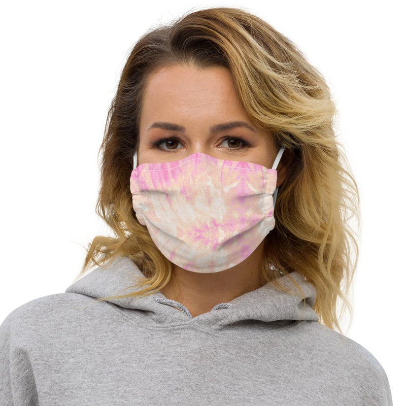 Face mask - Pink Tie Dye - peace-lover