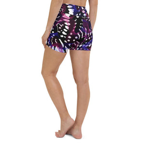 High waist shorts - Butterfly