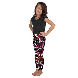 "Kid's Leggings - ""Mini Me"" Sunset - peace-lover"