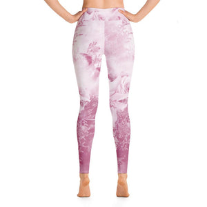 Floral Yoga Leggings - 8