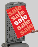 "High Quality Fillable Base Outdoor Sign 24""W by 36""H or 28""W by 44""H"