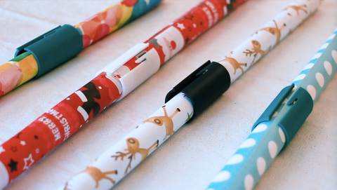 Little ELF wrapping paper cutting organiser