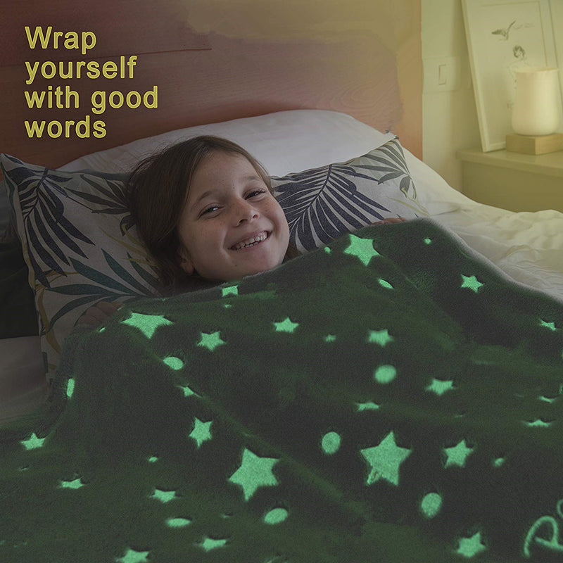 MAGICAL BLANKET GLOW IN THE DARK