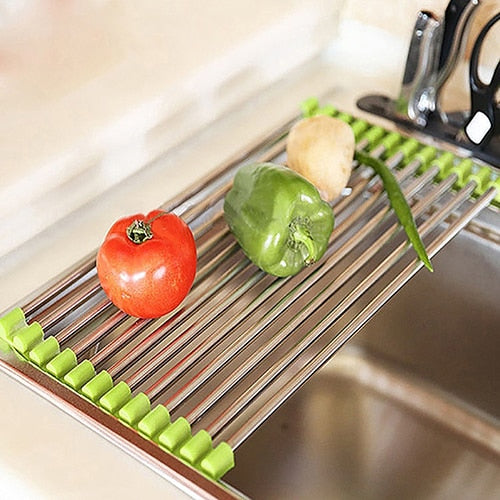 Sink Roll-Up Drying Rack