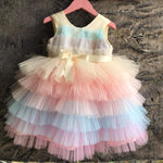 Unicorn (Rainbow) Princess Dress