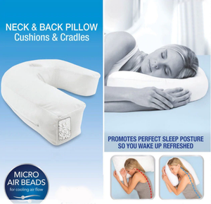 Orthopedic Side Sleeper Alignment Pillow