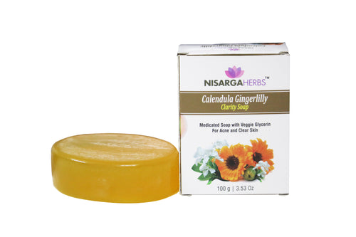 Calendula Gingerlilly Clarity Soap