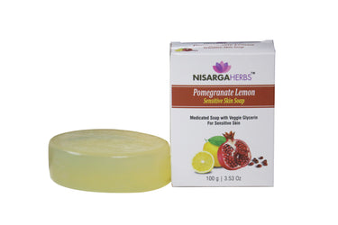 Pomegranate Lemon Sensitive Skin Soap