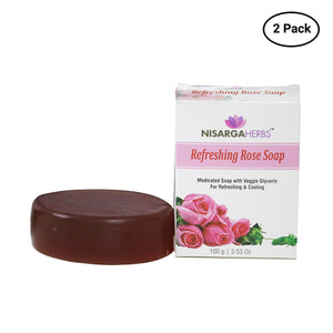 Refreshing Rose Soap (Pack of 2)