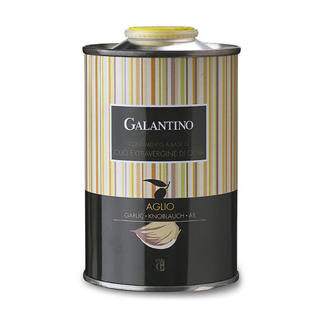 Garlic Extra Virgin Olive Oil by Galantino