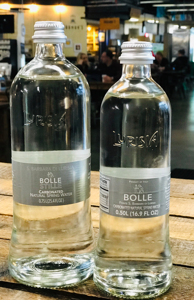 Bolle Sparkling Lurisia Italian Spring Water, 750ml
