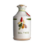 "** SPECIAL PRICE 20% OFF** ""Bel Tocco"" Aromatic Herb Extra Virgin Olive Oil in Hand Painted Ceramic"