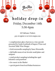 Dec. 14 Holiday Drop-in Ticket