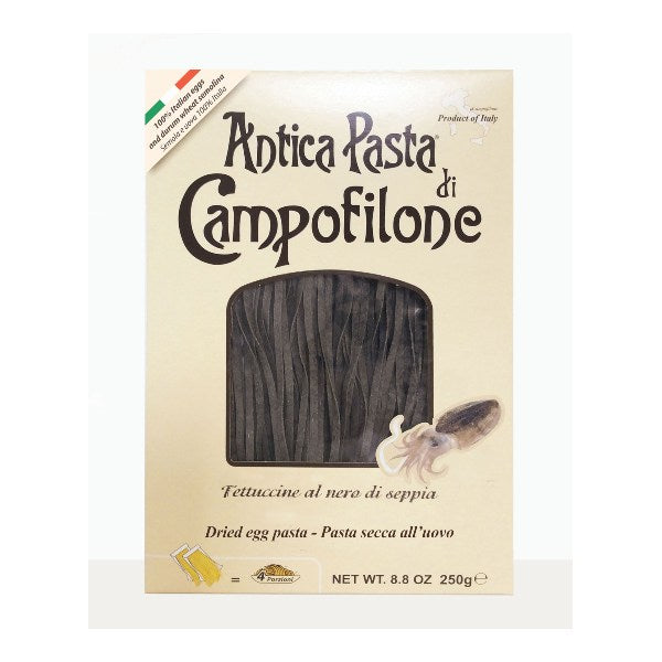 Black Squid Ink Fettuccine