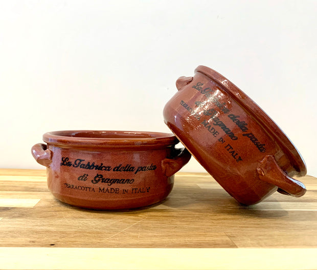 Italian terracotta bowls, set of 2