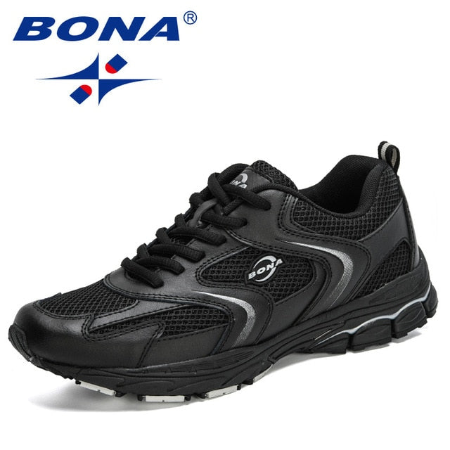 BONA 2020 New Designers Trendy Sneakers Man