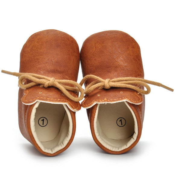 Soft Leather Bear toddler Baby Girl Boy Shoes First Walk Prewalker Anti-slip Shoes Moccasins children kids shoes for girl boy