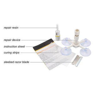 AMAZING GLASS / WINDSHIELD REPAIRER KIT - Repair Broken Glass in Convenient!!
