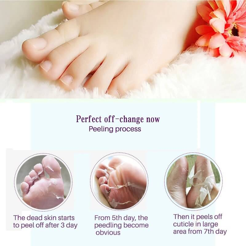 Feet Peeling Mask (2Pcs/Packet)