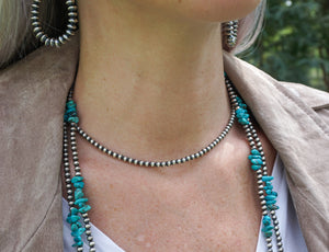 Navajo Pearls - 4 mm, 16-18 inch