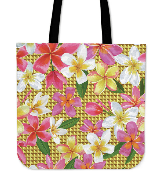 Romantic Flowery Passion Cloth Tote Bag