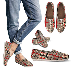 Awesome Tartan Plaid Women's Casual Shoes
