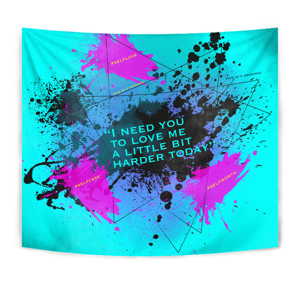 I need You to Love me Luxury Decoration Art On The Wall - Tapestry
