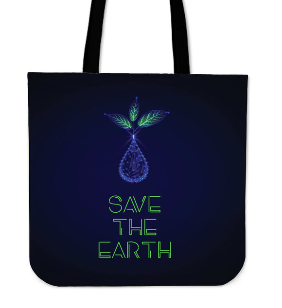 Save The Earth Cloth Tote Bag
