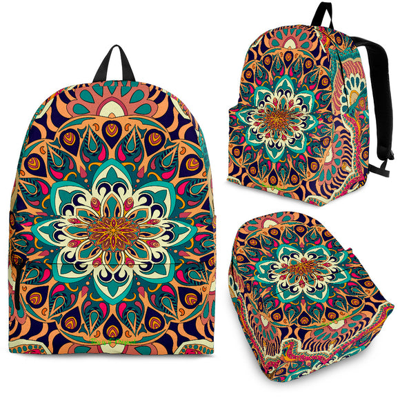 Exclusive Mandala Style Backpack 4 Special Edition by This is iT Original
