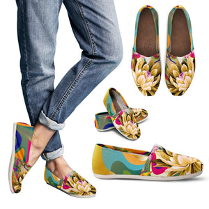 Summer Flower Love Women's Casual Shoes